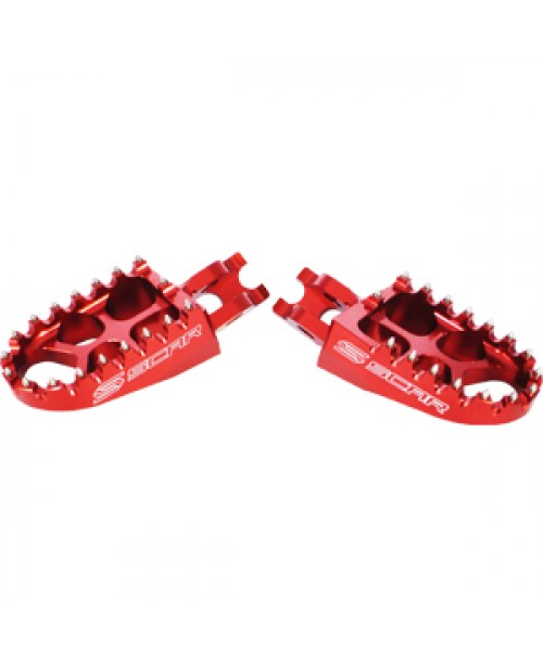 SCAR Evolution Footpegs Honda - Titanium