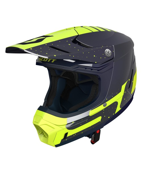 Scott Helmet 350 EVO Plus Team ECE Deep Blue / Yellow '19