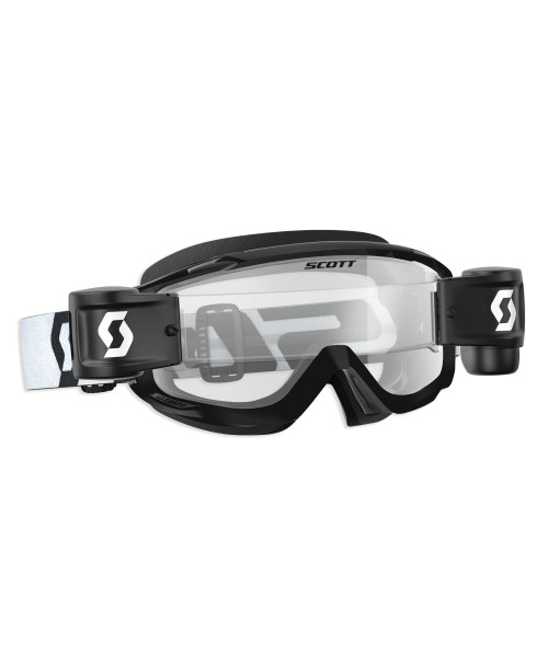 Scott Goggle SPLIT OTG WFS Roll Off Black/White / Clear Works