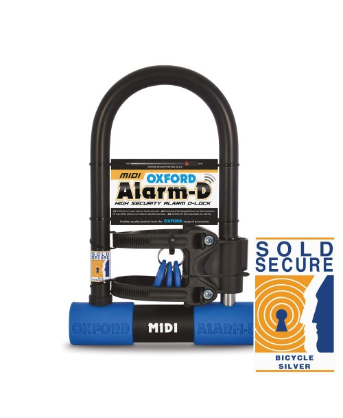 Oxford Alarm-D D-Lock Midi 260mm x 173mm
