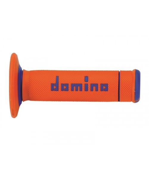 Rokturi Domino off-road - oranžs/zils