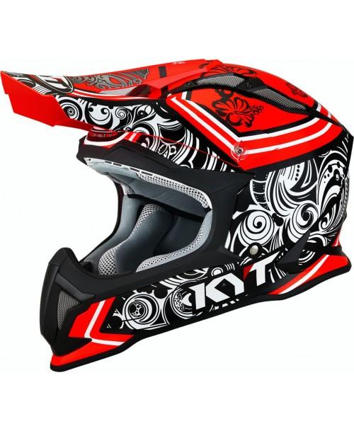 KYT Helmet STRIKE EAGLE Potion Red