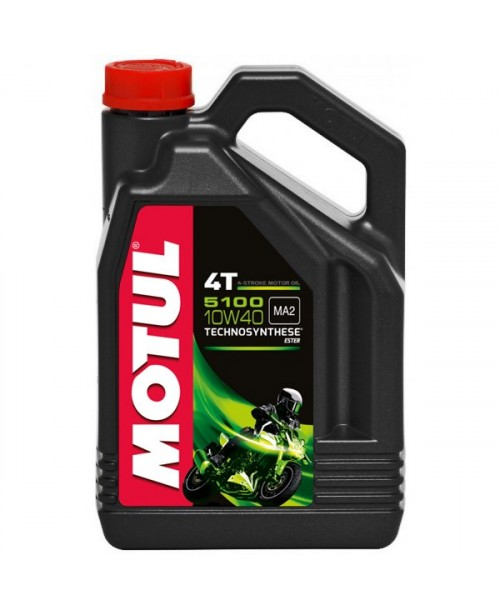 Motul Motor Oil 5100 4T 10W40 4L