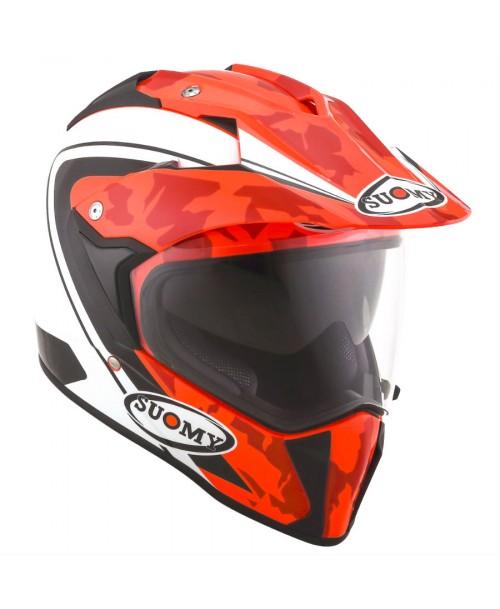 Suomy Helmet MX TOURER Desert Red