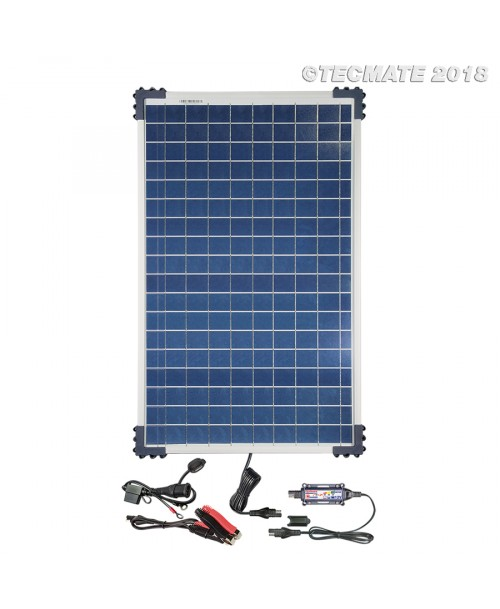 TecMate OptiMate SOLAR Charger / Tester / Maintainer +40W Solar Panel