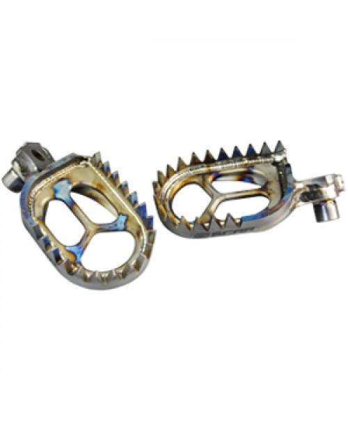 SCAR Titanium Footpegs Kawasaki